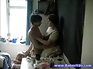 mom with boy